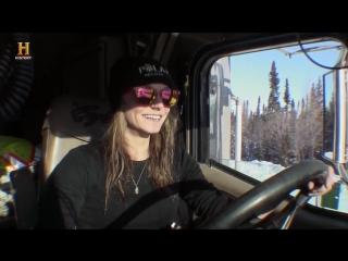 Ледовый путь дальнобойщиков 10 сезон 4 серия - Испытание льдом / Ice Road Truckers (2016) FullHD 1080p