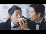 [Domino's Pizza] Сон Джун Ки и Пак Бо Гом в DOMINO SHOW! (часть 5)