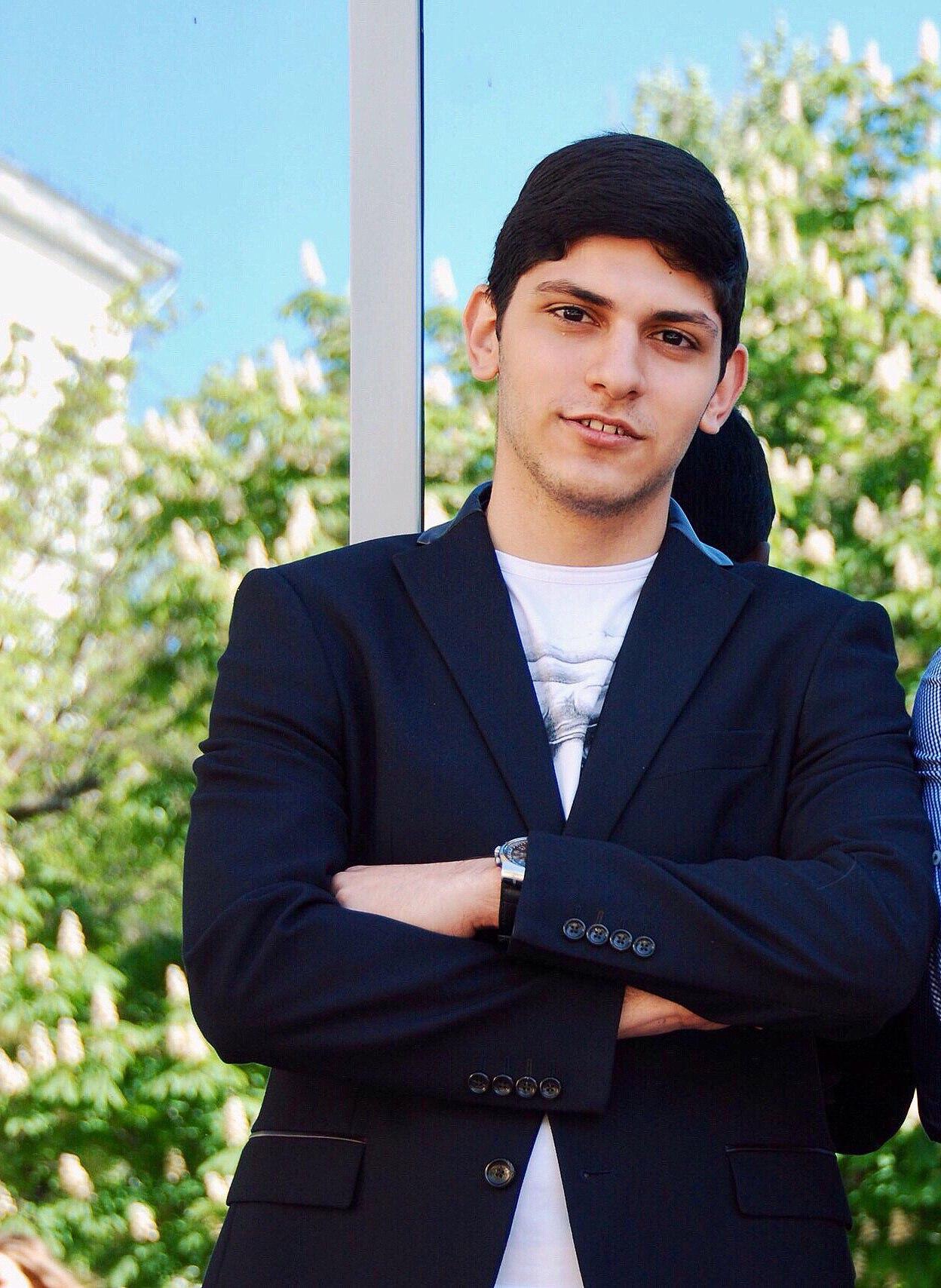 Давид Геворгян – студент 2 курса журфака НИУ ВШЭ