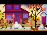 Hello, My Friends _ Trick-Or-Treating Song _ Super Simple Songs