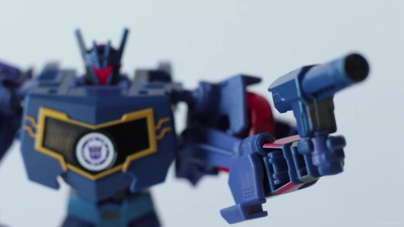 TRiD Combiner Force Warrior Soundwave Official Video