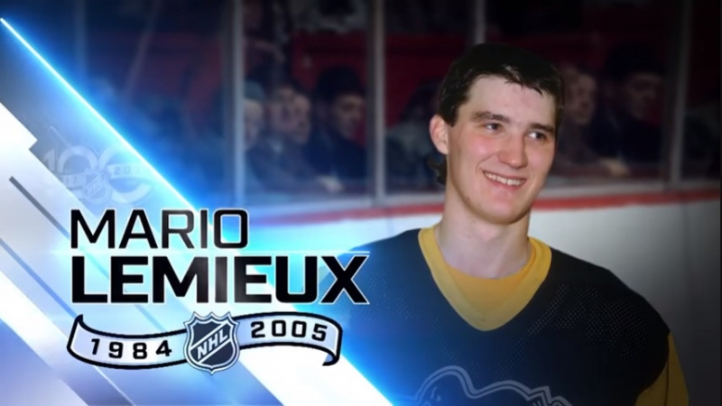Mario Lemieux scored 100 points 10 different times (100 Greatest NHL Players)