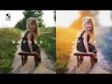 Photoshop Tutorial How to Edit Outdoor Portrait Blur amp Color Background
