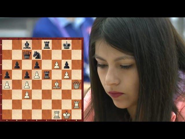 Странные шахматисты и красивые шахматистки! Всемирная шахматная олимпиада 2016 - тур 2