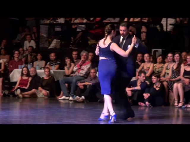Claudio FORTE and Barbara CARPINO @ Bordeaux Cite Tango Festival 2016 2/4