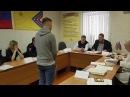 Заседание призывной комиссии по замене военной службы на альтернативную гражда