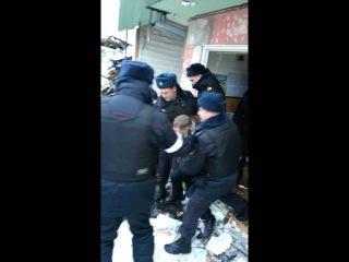 Избиение депутата Михаила Громова сотрудниками полиции 01.02.2016