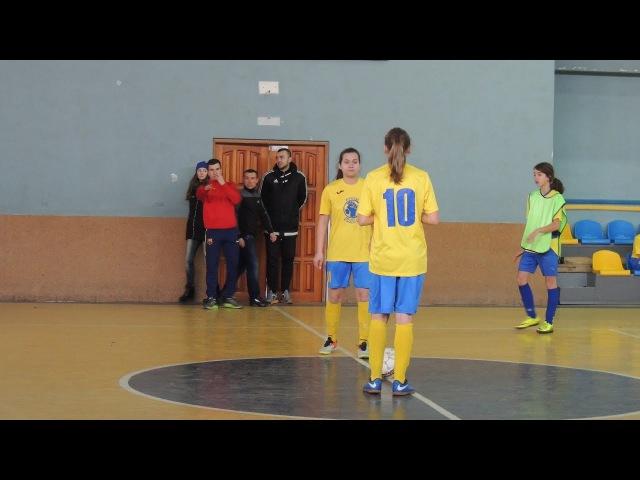 СДЮШОР (Киев) 81 Рубин (Песковка) Женский турнир по футзалу Коростень 2017