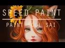 Speed paint Paint tool sai Kitsune Lulybot