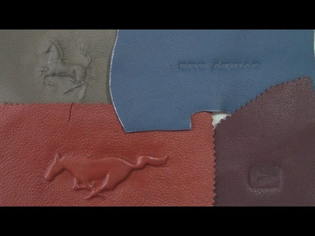 Embossing Debossing on Leather Part 1