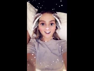 Perrie via snapchat 19.02