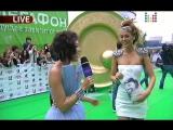 Таня Терёшина о дружбе с Жанной Фриске (Премия Муз-ТВ 2010)