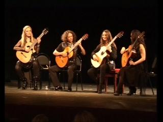 4-tissimo Guitar Quartet. {19-02-10 ТКЗ Дворец на Яузе}.