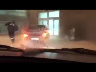 Погоня в стиле GTA в Казани