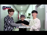 160921 Ten (NCT U), Yugyeom & Bam Bam (GOT7) @ Hit The Stage Ep.09