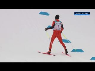 Худший в мире лыжник