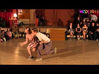 MXDC 2013 Cabaret - Laura Glaess & Mike Roberts