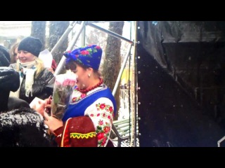 Масленица Киев с каналом СТБ 16/03/2013
