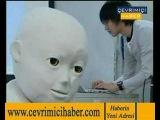 Самый жуткий человекоробот в  мире. Japon Çocuk Robot CB2
