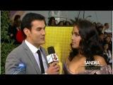 Sandra Echeverria y David Zepeda juntos en Los Latin Grammys 2011