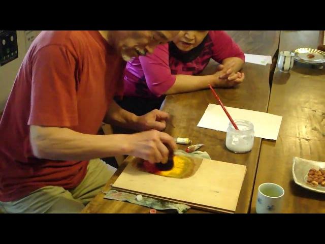 Japanese Woodblock Printing Class Hanga はんが 版画