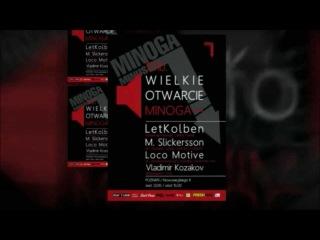 LetKolben @ Minoga Minus night - Poznan, Poland