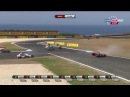 Carlos Checa and Marco Melandri crash WSB Phillip Island race 1  - 2013