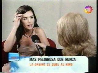 Natalia Oreiro entrevista canal 13. SOS MI VIDA . 2005