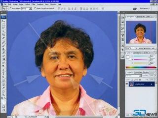 Работа с лицом в Фотошоп
