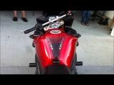 Yamaha FZ1 1000cc Walk Around Engine Sound Yoshimura Exhaust Revving sound SportTouring Motorcycle