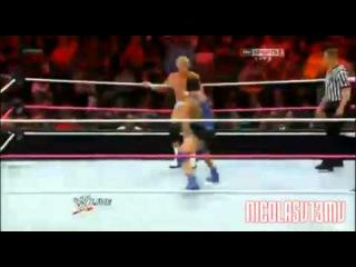WWE Raw 9/17/2012 : Santino Marella Vs Dolph Ziggler