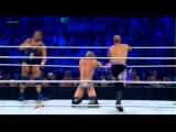 Dolph Ziggler & Cody Rhodes vs Santino Marella & Christian - WWE Smackdown 7/13/12