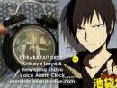 Durarara!! DRRR!! Orihaya Izaya x Heiwajima Shizuo Voice Alarm Clock