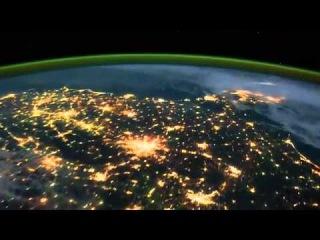 Планета Земля ночью с орбиты (Earth at Night)