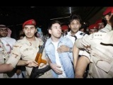 Lionel Messi Arrived in Saudi Arabia and Security Officers Scare him with their Guns