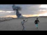 العرب الآن - شباب غزة يحتفلون على طريقتهم اث&