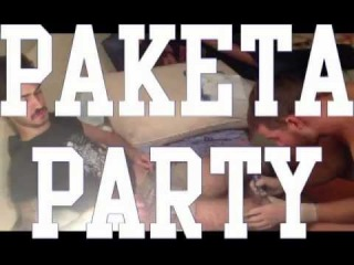 PAKETA PARTY / INVITATION FROM SHPINAT & CHUGUN / DUSCHE CLUB / 1 SEPTEMBER
