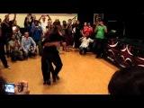 1st Limburg Bachata Zouk Kizomba Festival Andrea & Silvia Bachata-Workshop with music