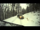 BMW 325i (E36) drifting in snow paradise