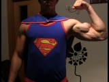 Musclegod19 - Superman theme video - 100% Natural muscle artist
