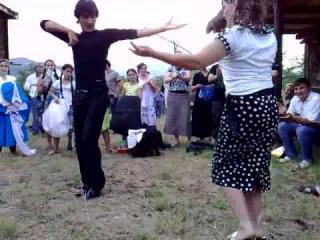 Ichkeria-Georgia lezginka chechens in Tbilisi on Art gene festival(from pankisi gorge)