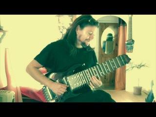 meddley on stu box guitar by jan laurenz