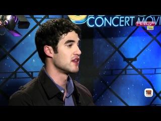 Interview: Darren Criss & Ashley Fink - 'Glee - The 3D Concert Movie'