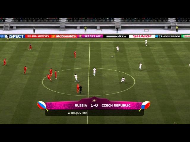 FIFA 12 (UEFA Euro 2012): 08.06.2012 - Симуляция матча