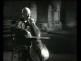 Pablo Casals plays BACH - Suite no 1 for Cello - part 2