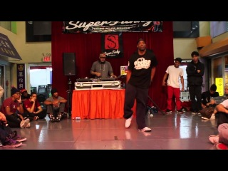 SUPER FUNKY 2012 | LOOSE JOINT JUDGE SHOW CASE