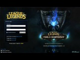 League of Legends - World Championship Login Screen HD