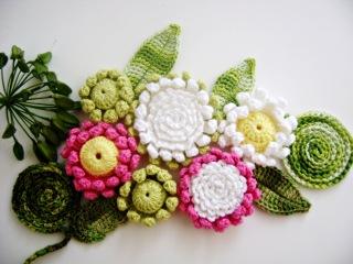 Красивые цветы крючком. Мастер-класс.  FLOR VITÓRIA-RÉGIA 3