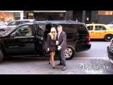 Demi arriving at a Office Building in NYC 11/10/12
