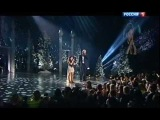 Рагда Ханиева и Валерий Меладзе - Опять метель (Песенка года 2012)